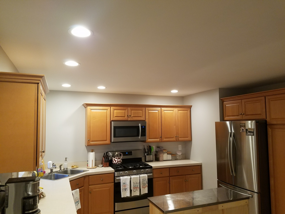 Lopatcong Kitchen Lights | After Logan Electric LLC